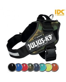 TRIXIE Postroj Julius-K9®, 1/L: 63–85 cm/50 mm, moro