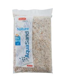ZOLUX Aquasand Nature biely kremeň 5 kg