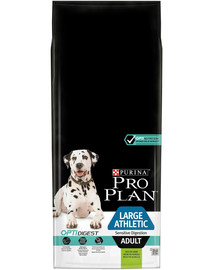 PURINA Pro Plan Large Athletic Adult Sensitive Digestion OptiDigest jahňacie 14 kg