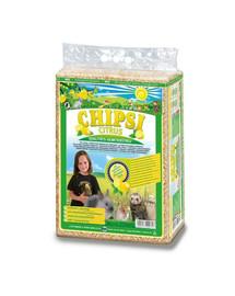 JRS Chipsi Citrus Multi - citrónové piliny 60 l