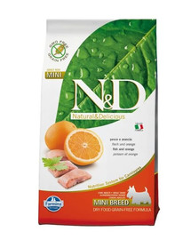 Farmina N & D Grain Free Dog Adult Mini Fish & Orange 7 kg