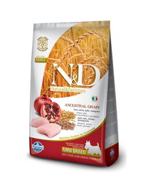 N & D Low Grain adult MINI chicken and pomegranate 7 kg