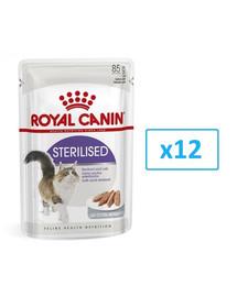 ROYAL CANIN Sterilised paštéta pre mačky 12x85g