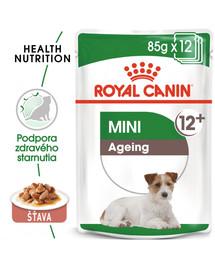 ROYAL CANIN Mini ageing  12+ 85g x12 kapsička pre staré malé psy