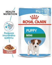ROYAL CANIN Mini Puppy 12x85g kapsička pre malé šteňatá