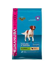 EUKANUBA Senior All Breeds Lamb & Rice 2.5 kg