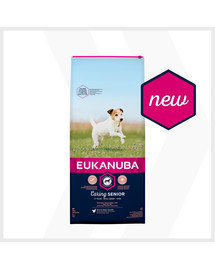 EUKANUBA Caring Senior Small Breed bohaté na čerstvé kuracie 15kg