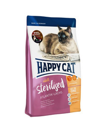 HAPPY CAT Supreme sterilised losos 1,4 kg