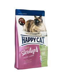 HAPPY CAT Supreme sterilised jahňacie 1,4 kg
