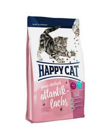 HAPPY CAT Supreme junior sterilised Losos atlantický 4 kg