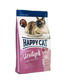 HAPPY CAT Supreme sterilised hovädzie 1,4 kg