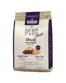 BOSCH Plus pštrosie mäso a zemiaky 12,5 kg