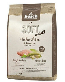 BOSCH Plus kuracie & banán 2,5 kg