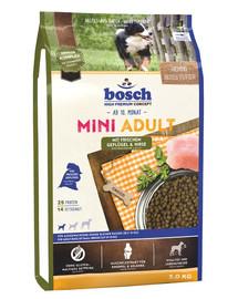 BOSCH Mini Adult Pšeno a šunka 3 kg