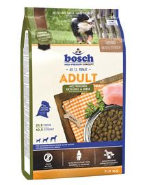 BOSCH Adult Pšeno a šunka 3 kg