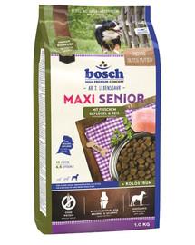 BOSCH Maxi Senior hydinové mäso a ryža 1 kg