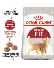 ROYAL CANIN Fit 10kg granule pre správnu kondíciu mačiek