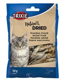 TRIXIE Sušené rybičky pre mačky  50g