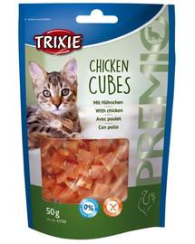 TRIXIE Snack premio cubes kuracie kocky 50 g