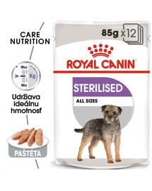 ROYAL CANIN Sterilised Dog Loaf 85g x12 kapsička s paštétou pre kastrované psy