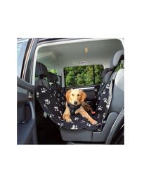 TRIXIE Autopoťah na zadné sedadlá 65 cm x 1.45 m čierno-béžový