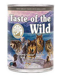 TASTE OF THE WILD Wetlands 390 g