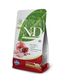 N&D Grain Free CAT Neutered Chicken&Pomegranate 1.5 kg
