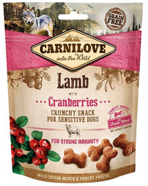 CARNILOVE Crunchy Snack Lamb&Cranberries 200 g