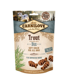 CARNILOVE Semi Moist Snack Trout&Dill 200 g
