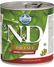 N&D DOG Prime Adult Chicken & Pomegranate 285 g