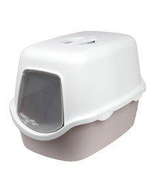 ZOLUX WC Cathy svetloružové kryté s filtrom 56x40x40cm