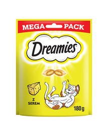 Dreamies Mega syr 4 x 180g