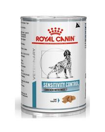 ROYAL CANIN Dog sensitivity control chicken & rice  420 g