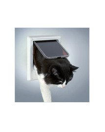TRIXIE Dvierka pre mačku  'Freecat de luxe elektromagnetické biele