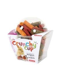 ZOLUX Crunchy Cup Nuggets pochúťka s mrkvou a repou130 g