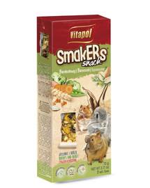 VITAPOL Smakers pre hlodavce brokolicové 2 ks