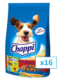 Chappi hovädzie & hydina 500 g x 16