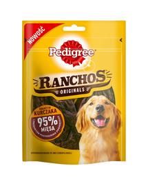 PEDIGREE Ranchos 95% kuřecí 7*70 g