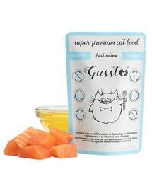GUSSTO Cat Fresh Salmon pre mačky, čerstvý losos 85 g