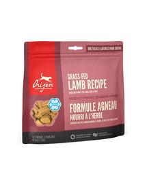 ORIJEN Freeze Dried Dog – Bezzrnné pamlsky z jahňacieho mäsa pre psov 42,5 g