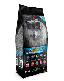 ALPHA SPIRIT Wild Fish 1,5 kg Kompletné suché a mäkké krmivo pre psov