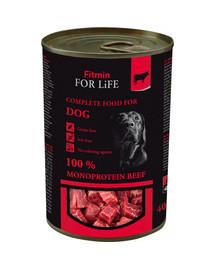 FITMIN For Life Beef Hovädzia konzerva pre psov 400 g