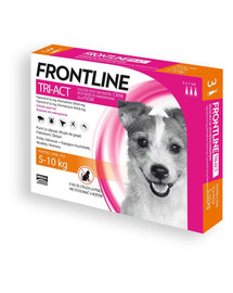 FRONTLINE Tri-Act Psy S 5-10 kg x3 Pipety