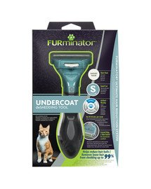 FURMINATOR hrablo Short Hair pre krátkosrsté mačky - S