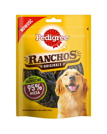 PEDIGREE Ranchos 95% Jahňacie 7 x 70 g