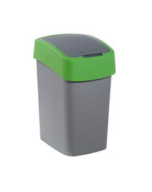 "CURVER Odpadkový kôš ""Flip Bin"" 25 l strieborno-zelený"