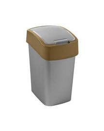 """CURVER Odpadkový kôš """"FLIP BIN"""" 25 l strieborno-hnedý"""
