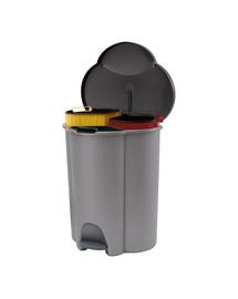 CURVER Kôš na segregáciu odpadu TRIO 40 l