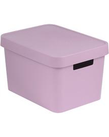 CURVER INFINITY 17L úložný box 36 x 22 x 27 cm ružový