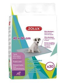 ZOLUX Absorpčné rohože 40 x 60 cm, 30ks